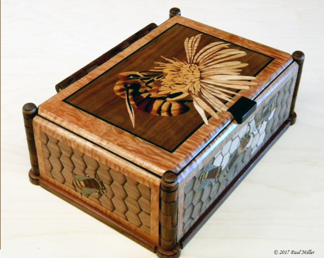 birds and bees reversable box paul miller 3